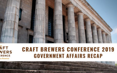 Craft Brewers Conference 2019 Government Affairs Recap
